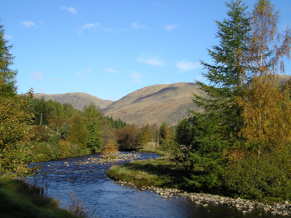 Glen Doll in the Angus Glens